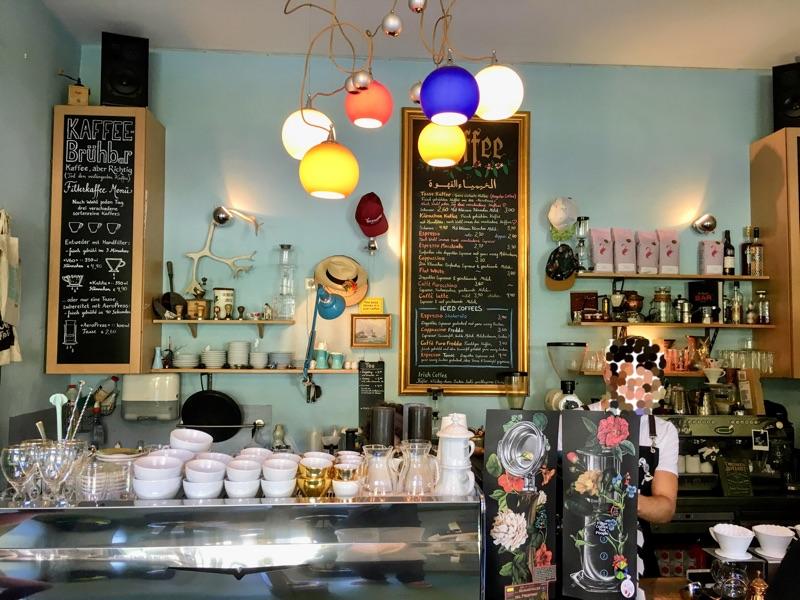 Kaffee-Alchemie in Salzburg - Foto © Helmut Hackl