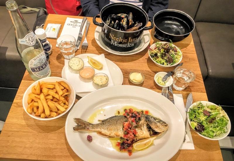 The Seafood Bar Amsterdam - Foto © Helmut Hackl