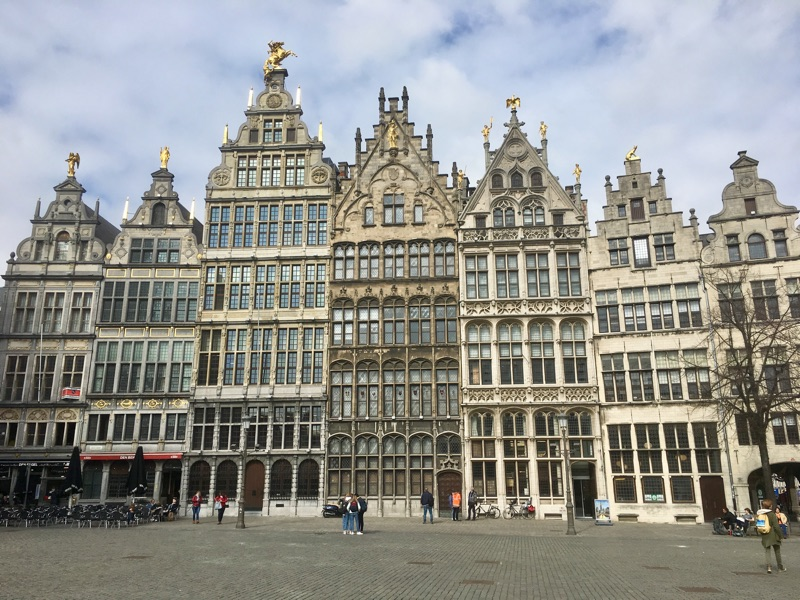 Grote Markt in Antwerpen - Foto © Helmut Hackl