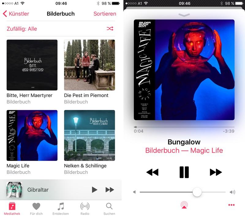 Apple Music am iPhone