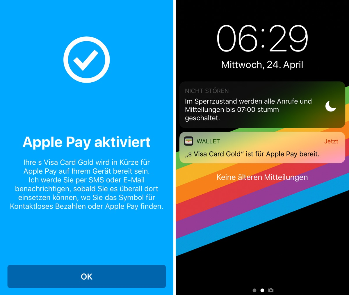 Apple Pay am iPhone