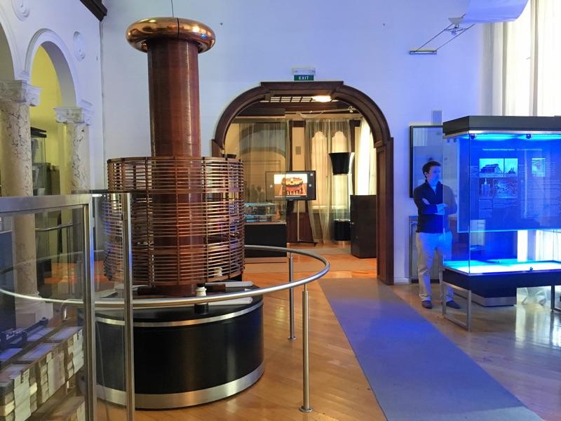 Nikola Tesla Museum in Belgrad - Foto © Helmut Hackl