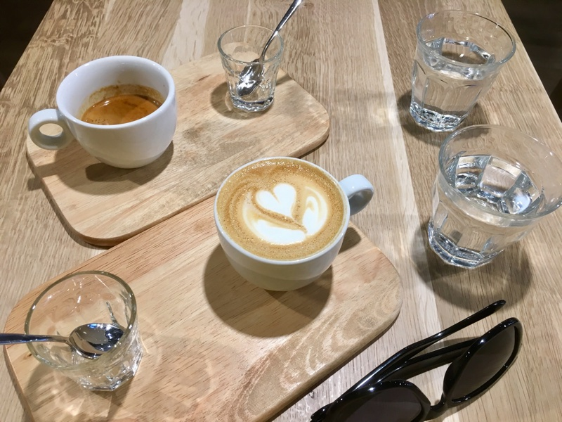 Third Wave Coffee in Bukarest - Foto © Helmut Hackl