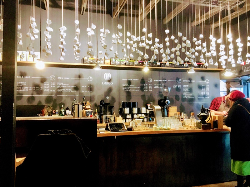 Origo Coffee Shop in Bukarest - Foto © Helmut Hackl