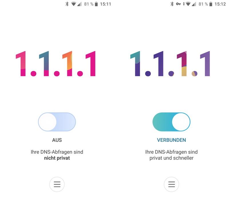 Cloudflare 1.1.1.1 - für mehr Privatsphäre im Internet
