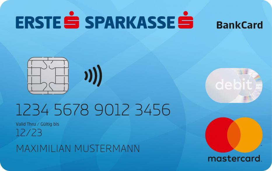 Debit Mastercard - Foto © Erste Bank und Sparkassen