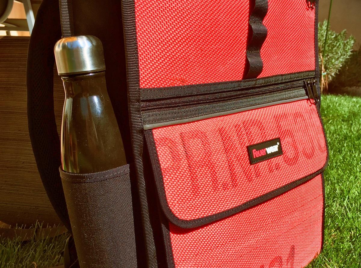 Feuerwear Eddie Rolltop-Rucksack aus Feuerwehrschlauch - Foto © Helmut Hackl