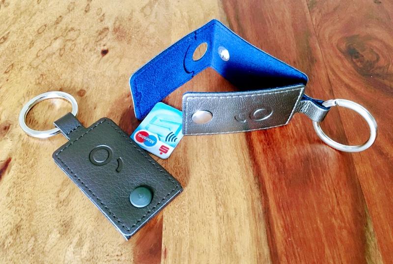 Erste BankCard Micro im Schlüsselanhänger - Foto © Helmut Hackl
