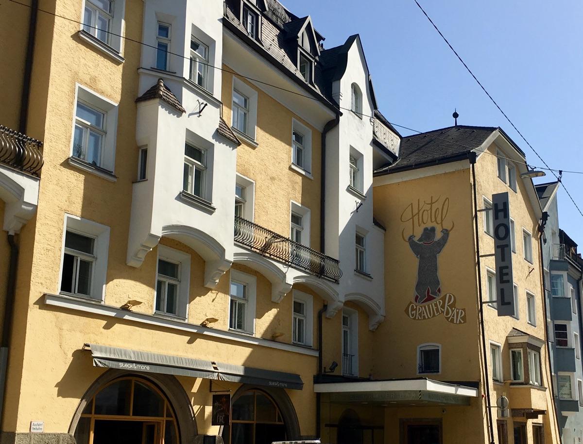 Hotel Grauer Bär / Innsbruck | Foto © Helmut Hackl