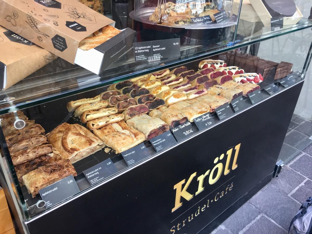 Kröll Strudel Café / Innsbruck | Foto © Helmut Hackl