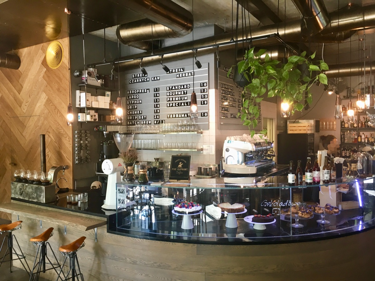 Blossom Coffee & Food in Krakau | Foto © Helmut Hackl