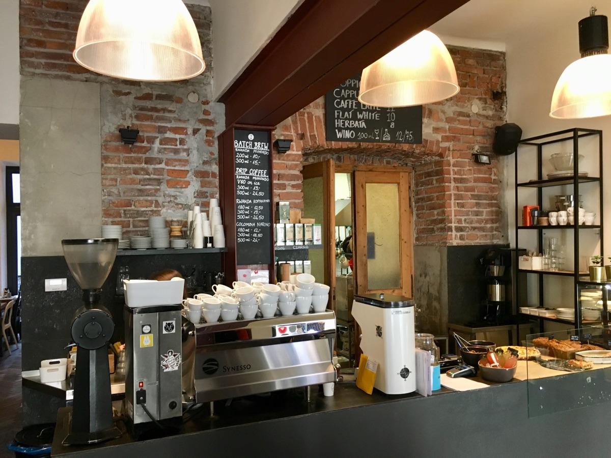 Karma Coffee Roasters in Krakau | Foto © Helmut Hackl