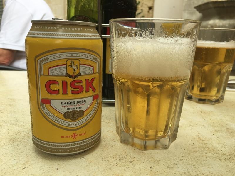 Cisk Bier auf Malta - Foto © Helmut Hackl