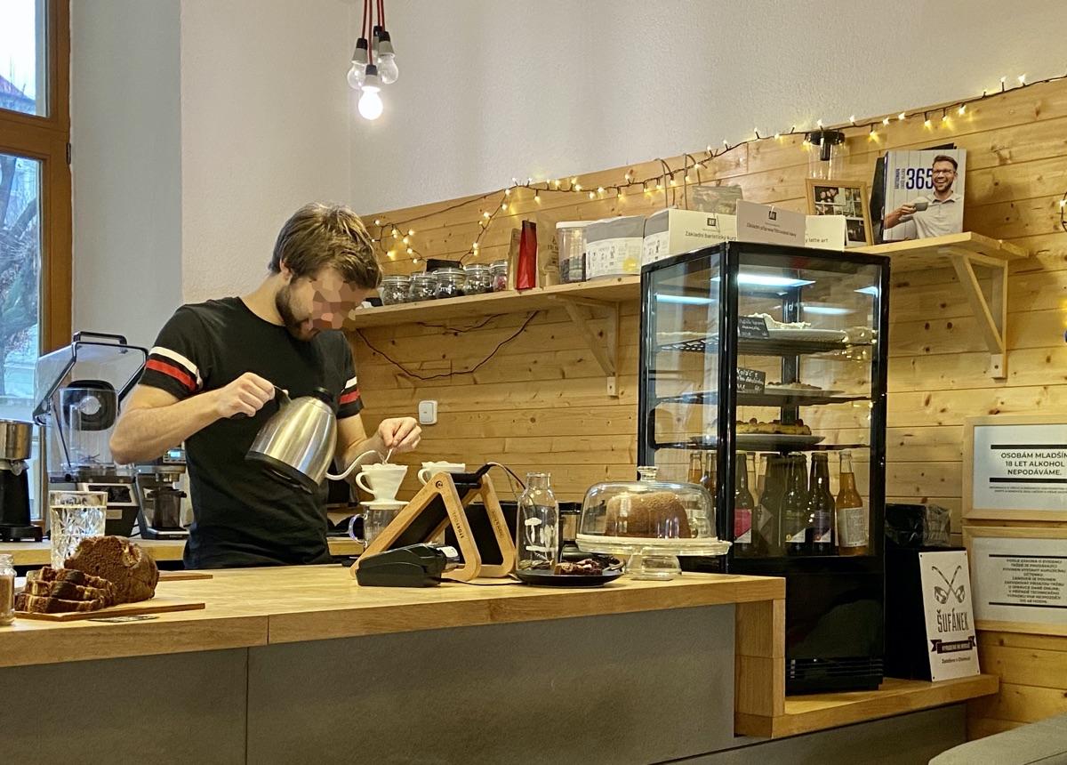 Café Jan in Olmütz | Foto © Helmut Hackl