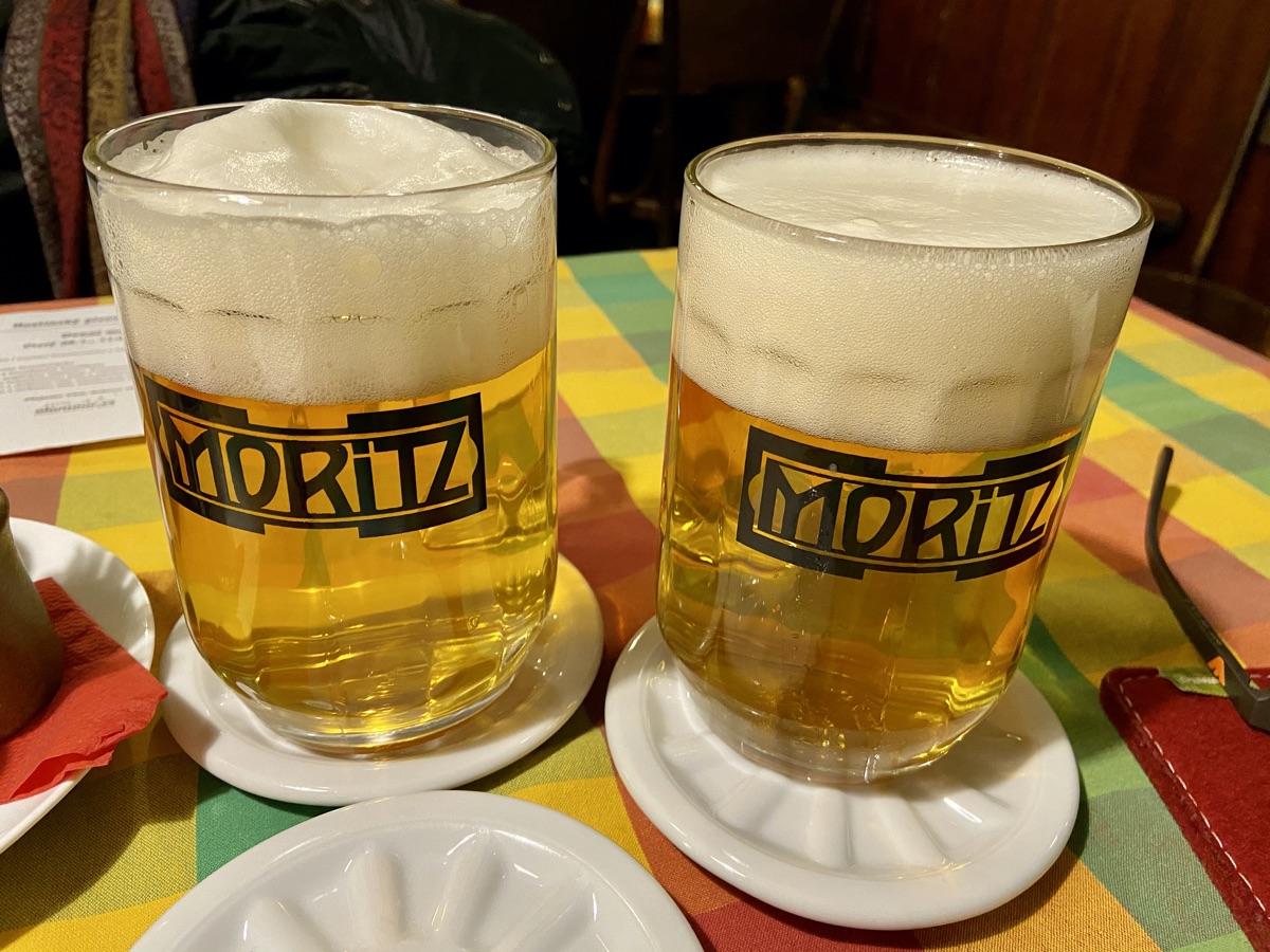 Stadtbier - Moritz Brauerei in Olmütz | Foto © Helmut Hackl