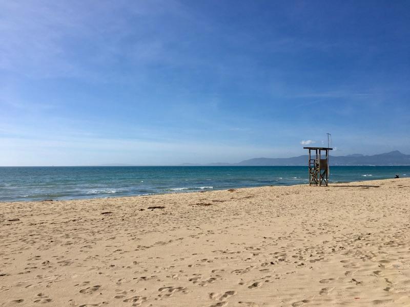 Beach - Palma de Mallorca - Foto © Helmut Hackl