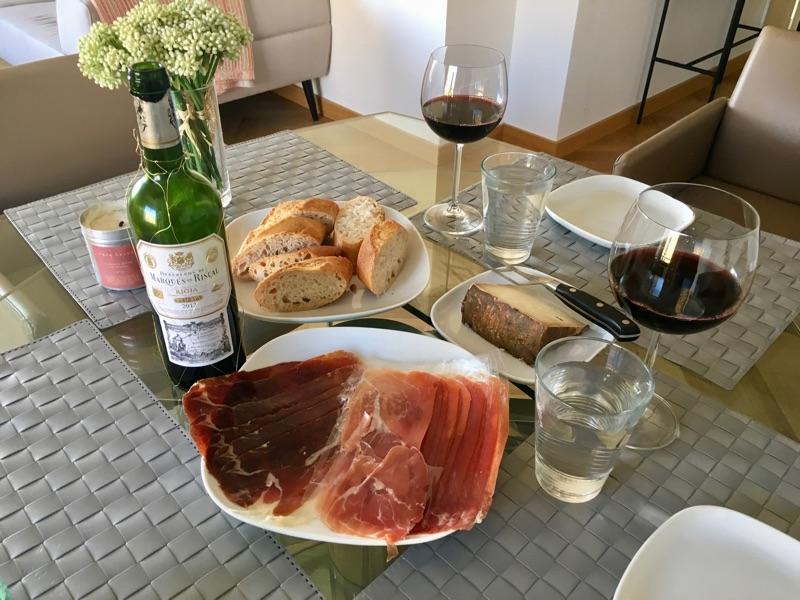 Jamón de cebo Ibérico + Rioja - Palma de Mallorca - Foto © Helmut Hackl