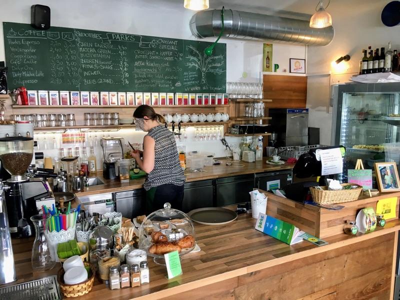 Parks Coffee Shop in Graz - Foto © Helmut Hackl