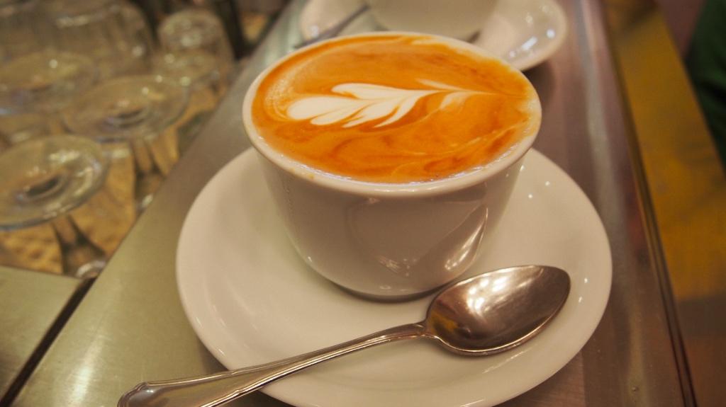 Er Baretto Arte del caffè Roma - Foto © Helmut Hackl