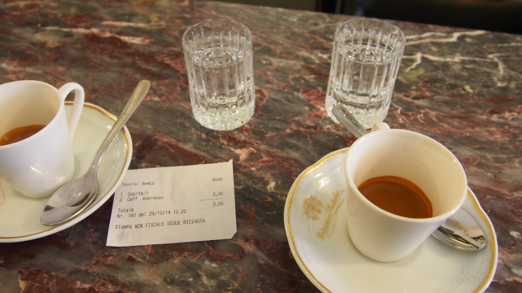 Sant'Eustachio Il Caffè Roma - Foto © Helmut Hackl