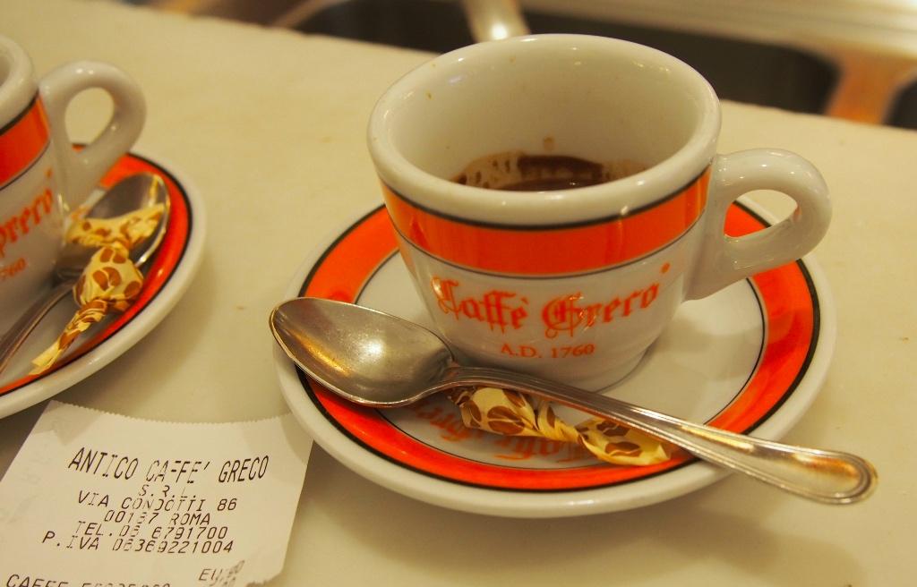 Antico Caffè Greco Roma - Foto © Helmut Hackl