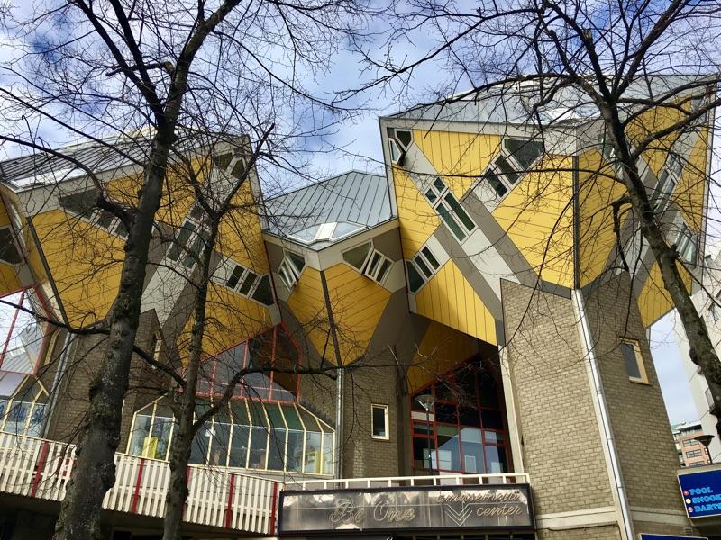 Kijk-Kubus in Rotterdam - Foto © Helmut Hackl