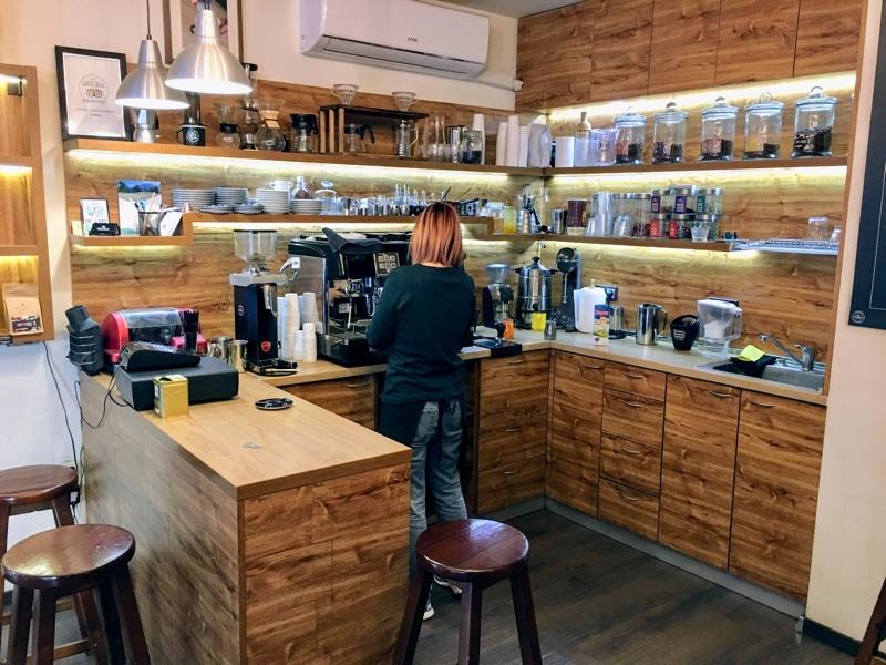 Chuckys Coffee Shop in Sofia - Foto © Helmut Hackl