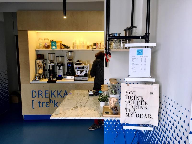 Drekka Cafe in Sofia - Foto © Helmut Hackl