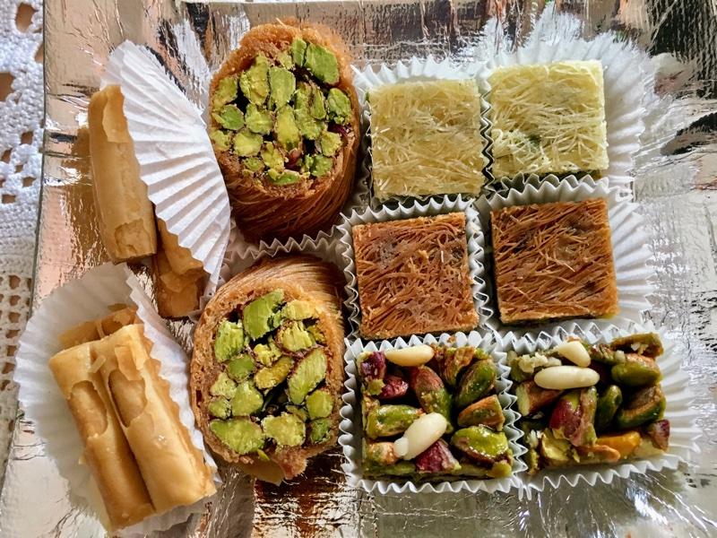 Der süße syrische Orient - Taybat Sweets   Foto © Helmut Hackl
