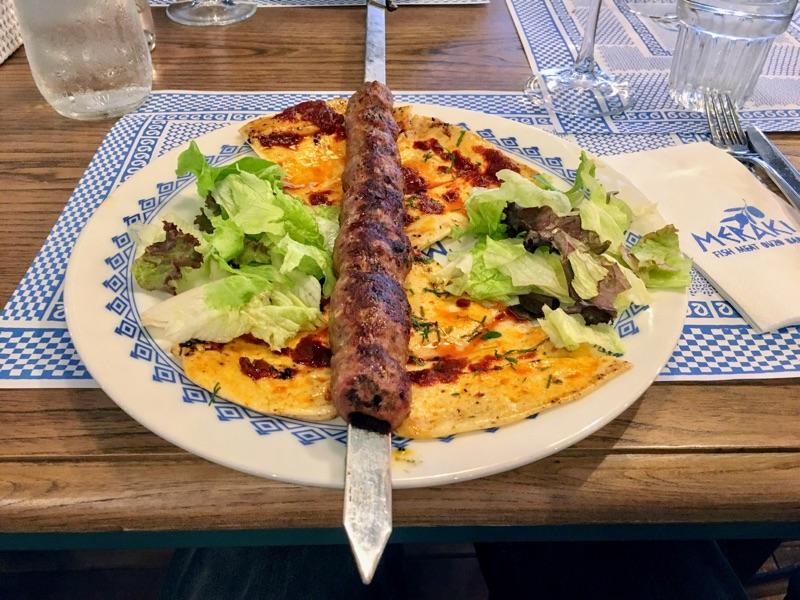 Adana im Meraki Restaurant in Varna - Foto @ Helmut Hackl