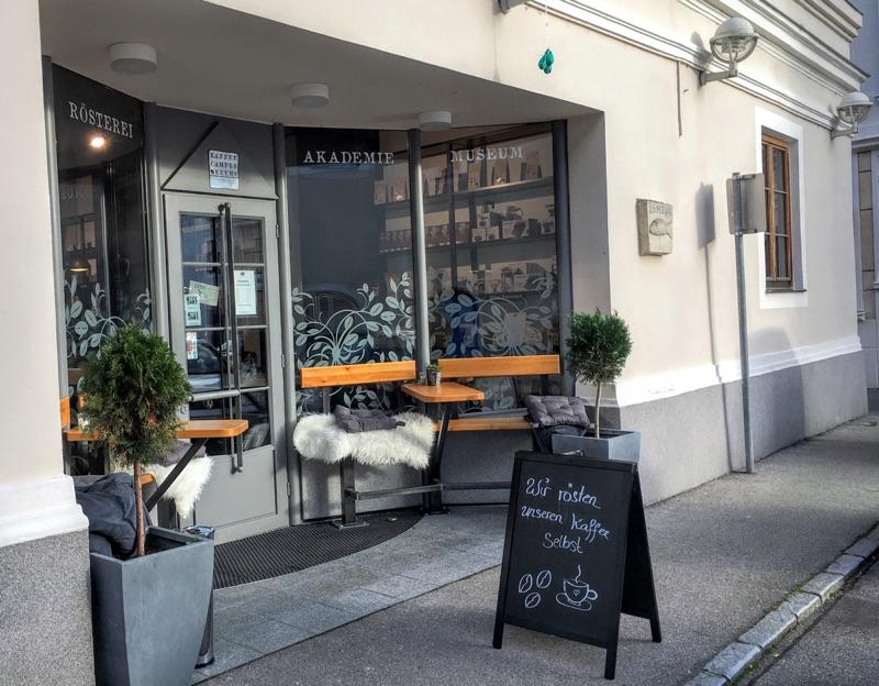Kaffee Campus Krems - Foto © Helmut Hackl
