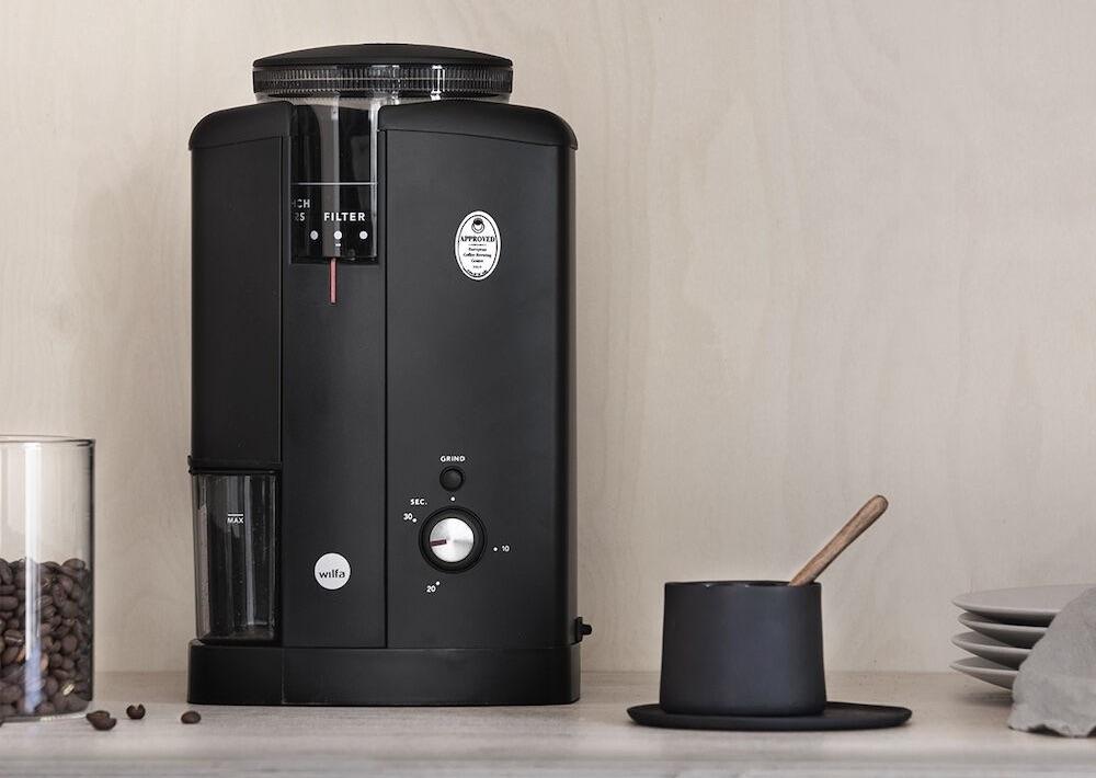 Svart Aroma - elektrische Kaffeemühle   Foto © Wilfa