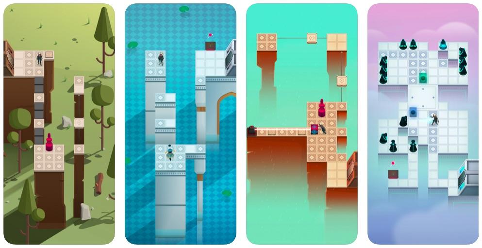 Alter: Between Two World für iOS | Screenshots © Crescent Moon Games
