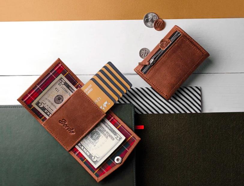 BORDO mini Leather Wallet | Foto © Andrew Skop