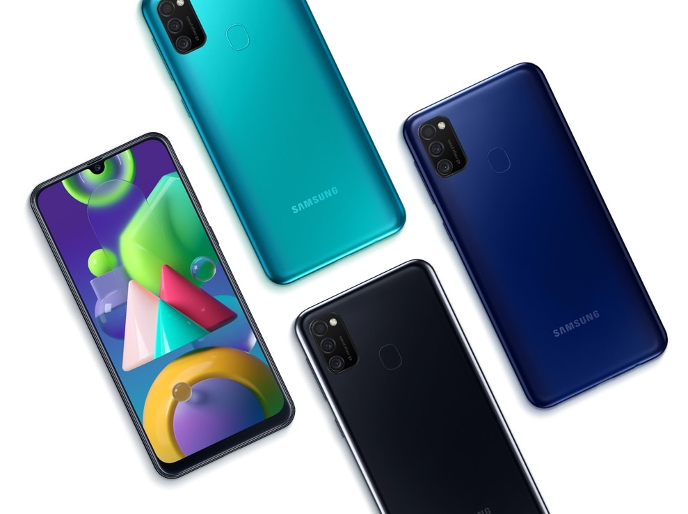 Galaxy M21 Android-Smartphone | Foto © Samsung