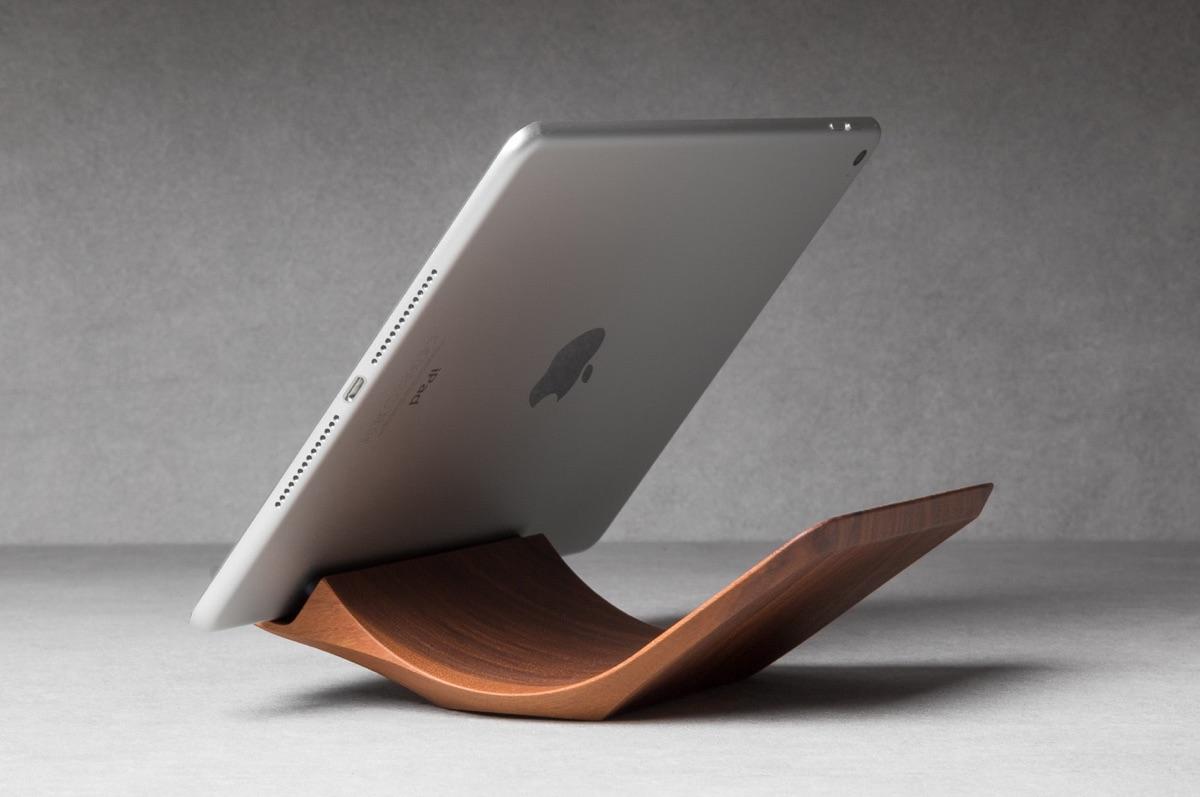 iPad-Halterung | Foto © Yohann