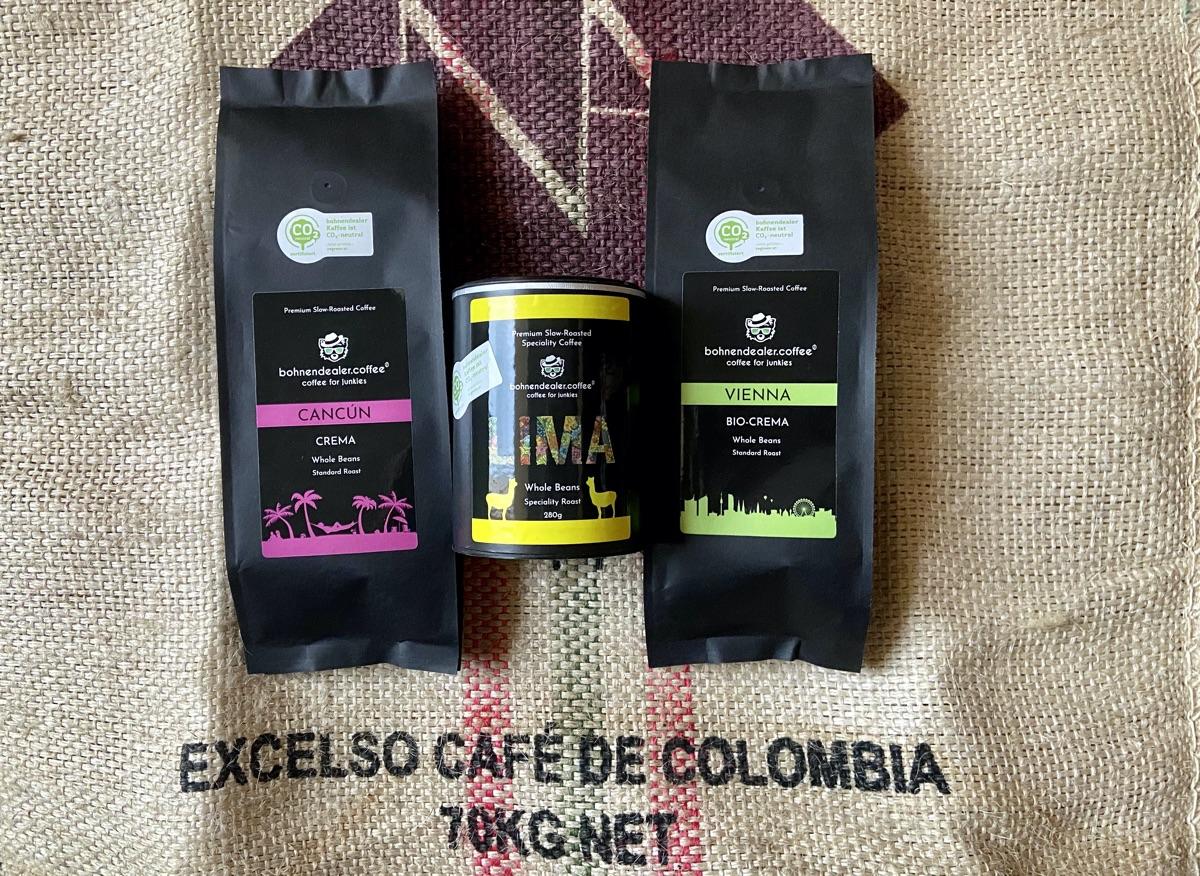 Cancún, Lima & Vienna von bohnendealer.coffee | Foto © Helmut Hackl