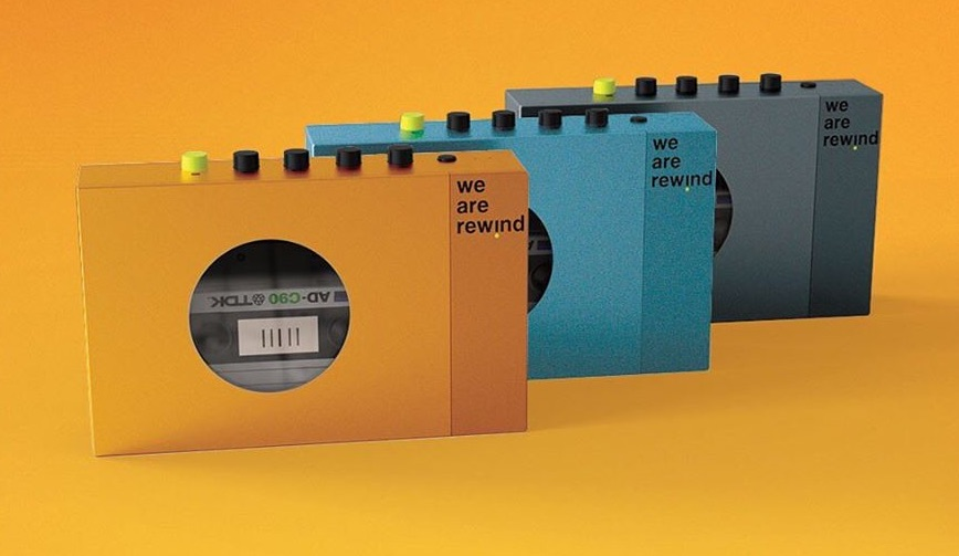 We are rewind Portable Cassette Player ] Foto © wearerewind
