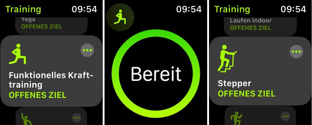 Fitness mit der Apple Watch