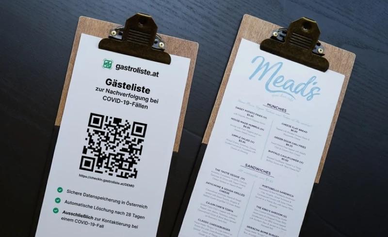 digitale Gästeregistrierung | Foto © gastroliste.at