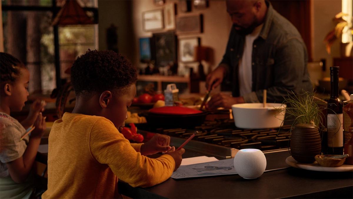 HomePod Mini Lautsprecher | Foto © Apple