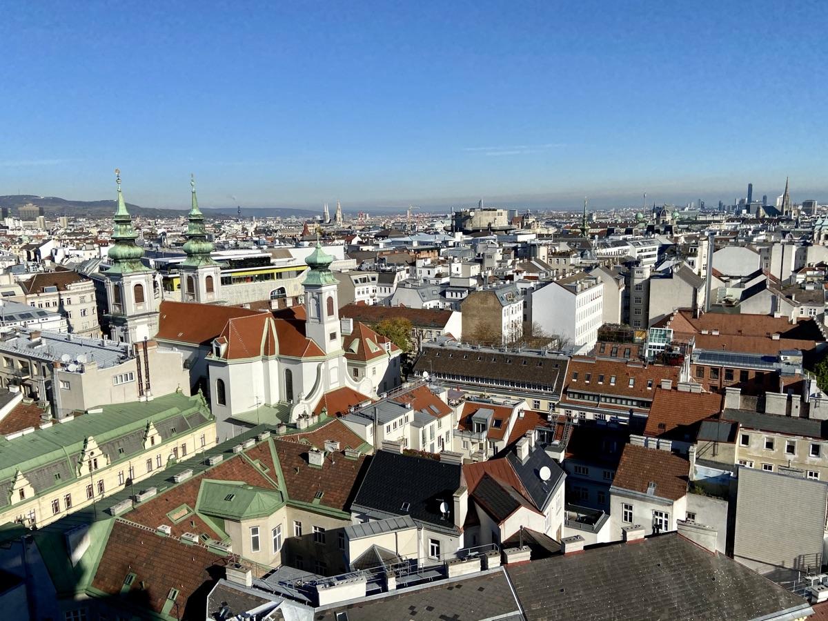 Aussicht über Wien vom 360° Ocean Sky | Foto © Helmut Hackl