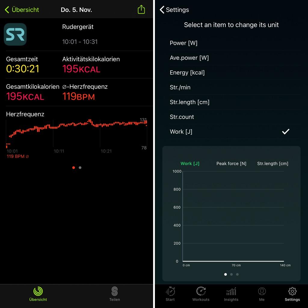 SnartRow App