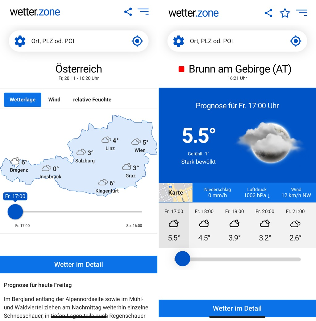 Wetter In Zons