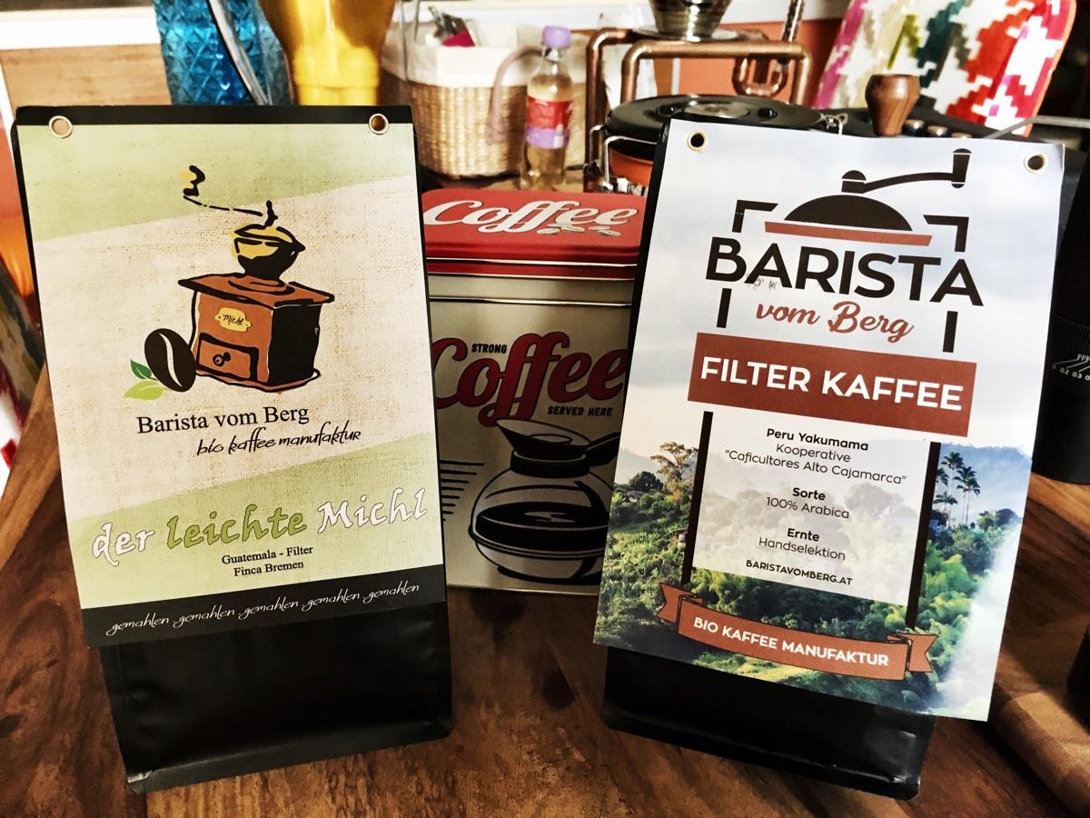 Barista vom Berg – Filterkaffee | Foto © Helmut Hackl