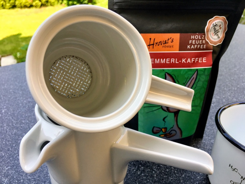 Bayreuther Kaffeekanne | Foto © Helmut Hackl