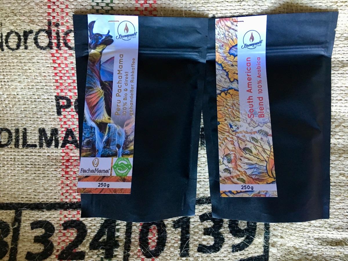 Peru PachaMama & South American von Brennpunkt Coffee | Foto © Helmut Hackl
