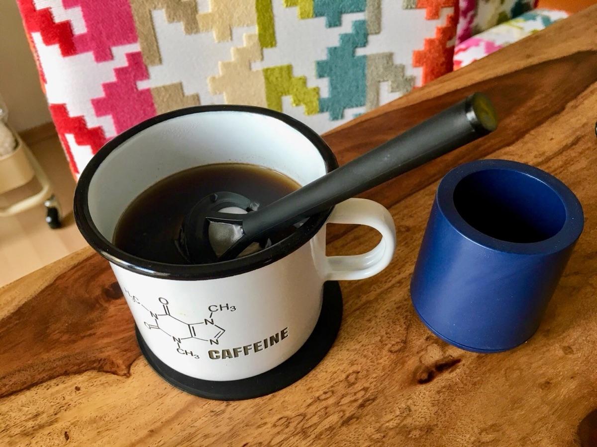 Brew It Stick Coffee Infuser | Foto © Helmut Hackl
