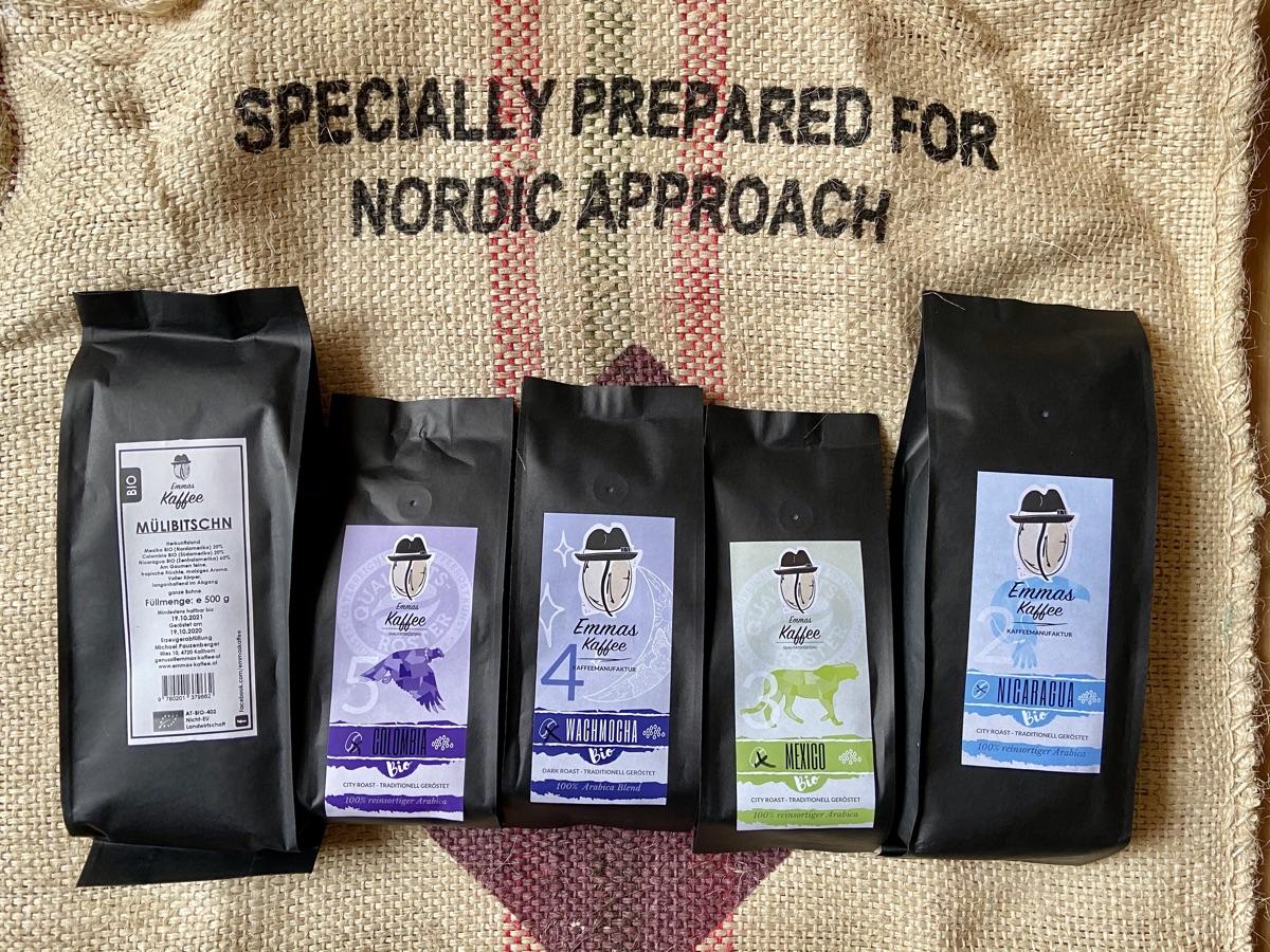 Emmas Kaffee – Nicaragua, Mexico, Colombia, Wachmocha & Mülibitschn | Foto © Helmut Hackl
