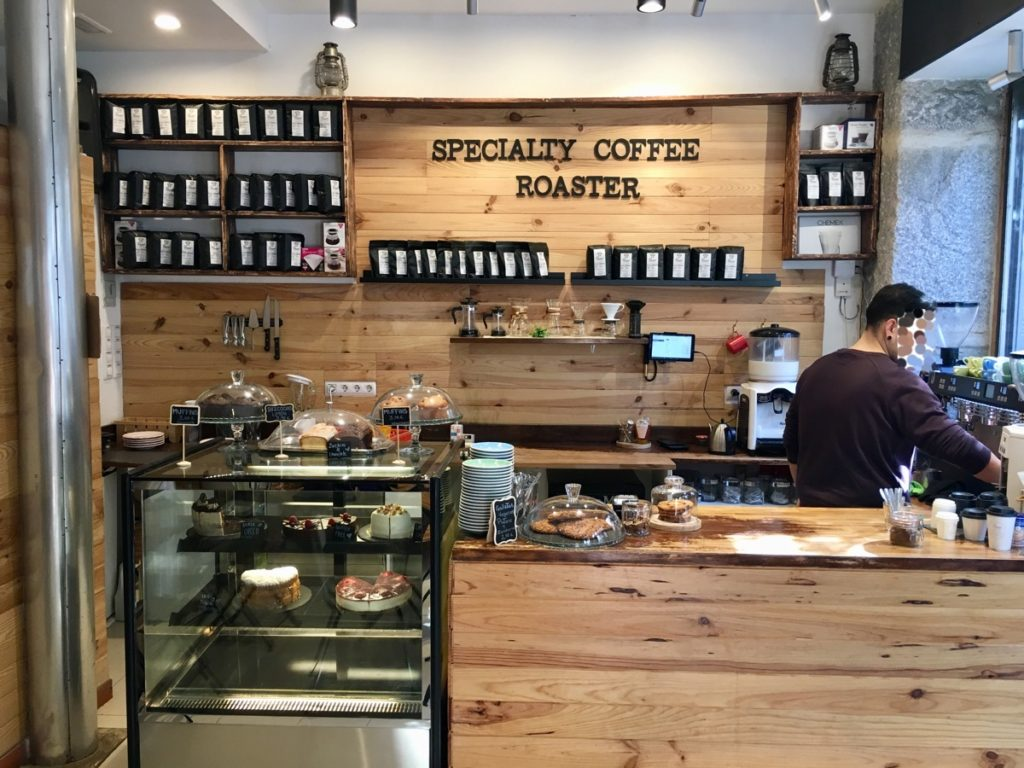 Speciality Coffee Roaster in Madrid – Foto © Helmut Hackl